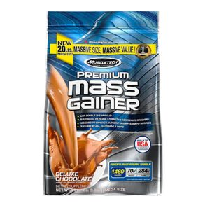 MUSCLETECH MASS GAINER, CHOCOLATE, 20 LBS