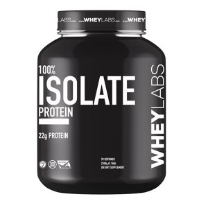 WHEY LABS, 100% ISOLATE PROTEIN, VANILLA, 5 LBS