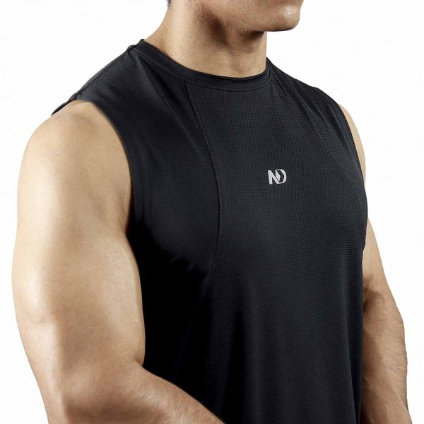ND PERFORMANCE TANK TOP - BLACK 3