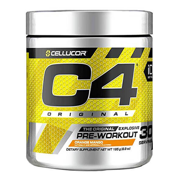 CELLUCOR, C4 ORANGE MANGO, 30 SERVING