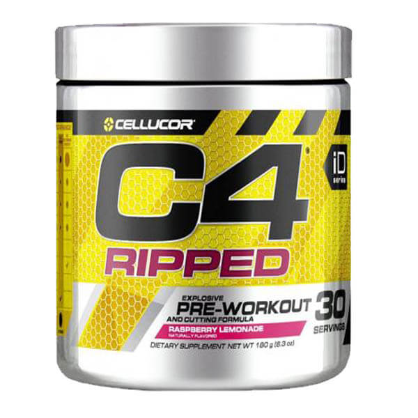 CELLUCOR, C4 RIPPED RASBERRY LEMONADE, 30 SERVING