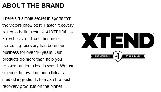 product overview = xtend ripped bcaa 4