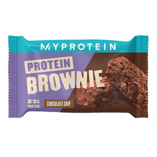 MYPROTEIN PROTEIN BROWNIE, CHOCOLATE CHIP P_F