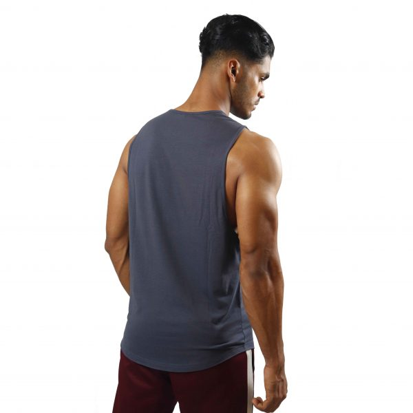 ND ESSENTIAL TANK TOP, CHARCOAL 2