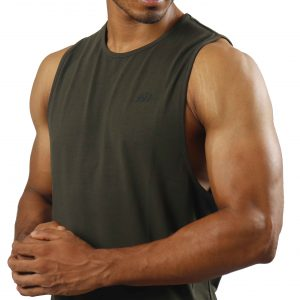 ND ESSENTIAL TANK TOP, OLIVE 6