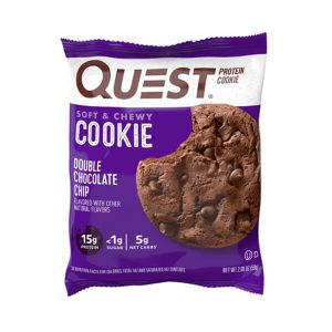 QUEST COOKIES, DOUBLE CHOCOLATE CHIP