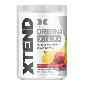 XTEND BCAA, KNOCKOUT FRUIT PUNCH, 30 SERVING