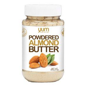 YUM NATURAL POWERED ALMOND BUTTER