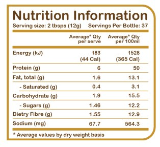 YUM NATURAL, POWDERED ALMOND BUTTER, 1 LB 3