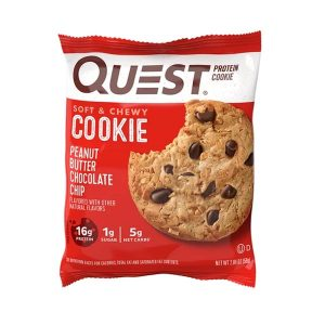 QUEST COOKIES, PEANUT BUTTER CHOCOLATE CHIP - 01