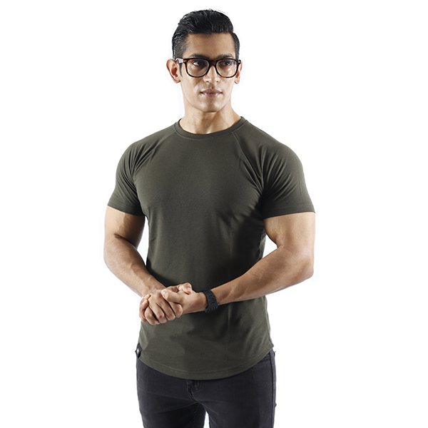 ND ESSENTIAL T-SHIRT – OLIVE 1