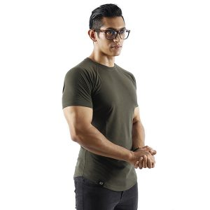 ND ESSENTIAL T-SHIRT, OLIVE 4