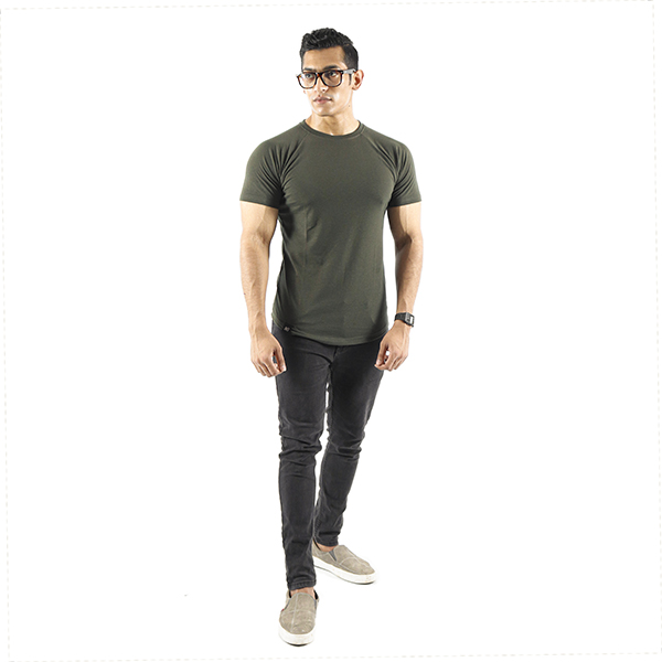ND ESSENTIAL T-SHIRT, OLIVE 2