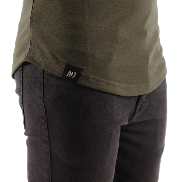 ND ESSENTIAL T-SHIRT, OLIVE 3