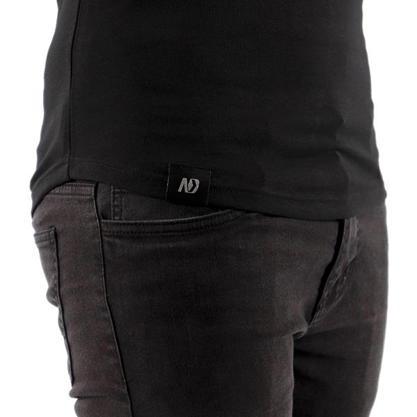 ND ESSENTIAL T-SHIRT, BLACK 3