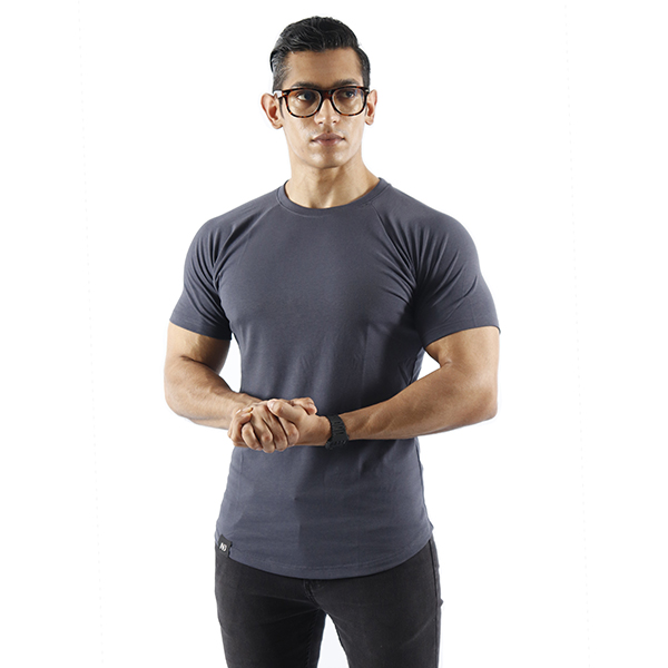 ND ESSENTIAL T-SHIRT - CHARCOAL 1