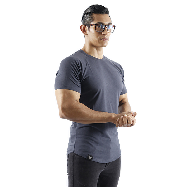 ND ESSENTIAL T-SHIRT, CHARCOAL 1