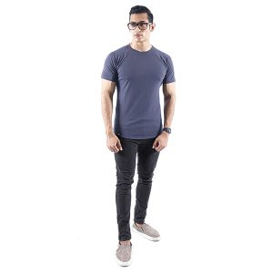 ND ESSENTIAL T-SHIRT, CHARCOAL 5