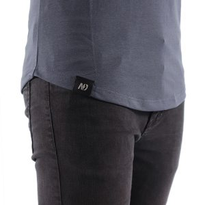 ND ESSENTIAL T-SHIRT, CHARCOAL 6