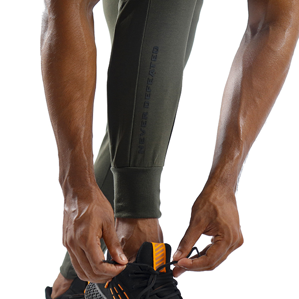 ND ESSENTIAL JOGGERS,OLIVE 3