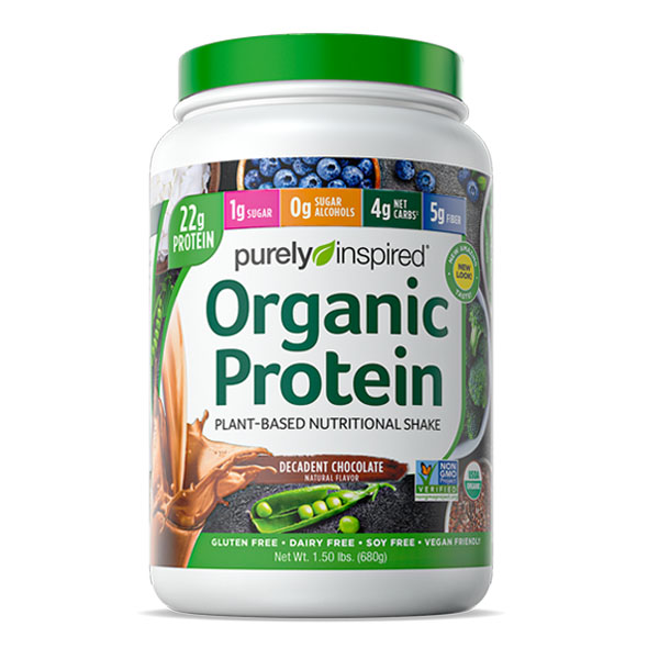 PURELY INSPIRED, ORGANIC PROTEIN, CHOCOALTE, 1.5 LBS